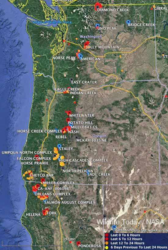 Washington Wildfire Map 2017.Northwest Wildfires Map Www Naturalrugs Store