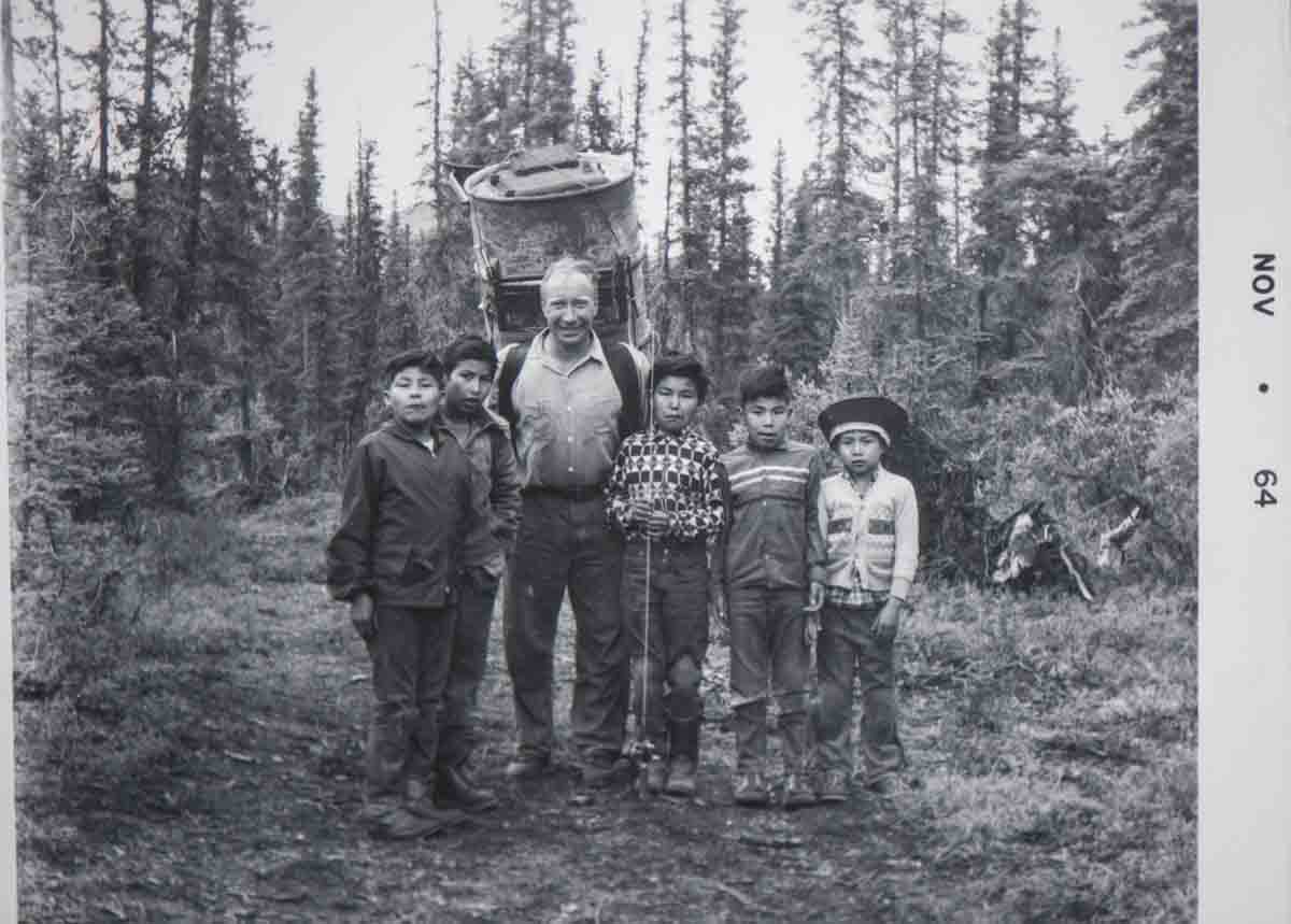 Photos requested of Fred Rungee, Alaska legend