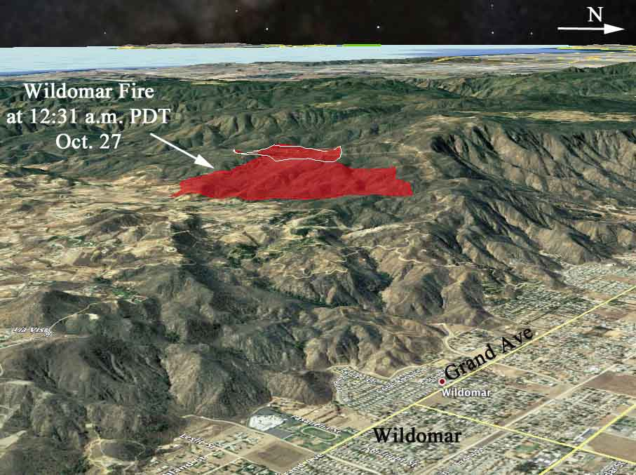 Wildomar Fire Archives Wildfire Today