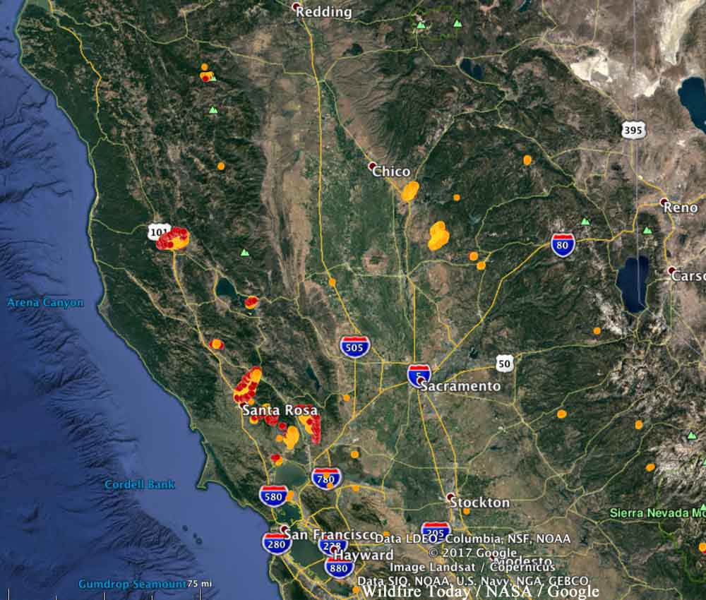 80 000 Acres In 18 Hours Damage From Historic California Wine