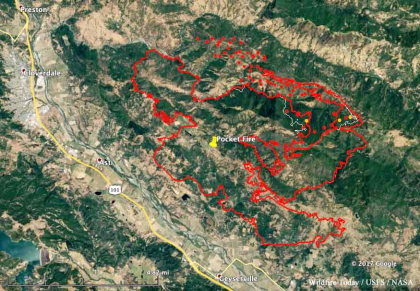 map pocket fire