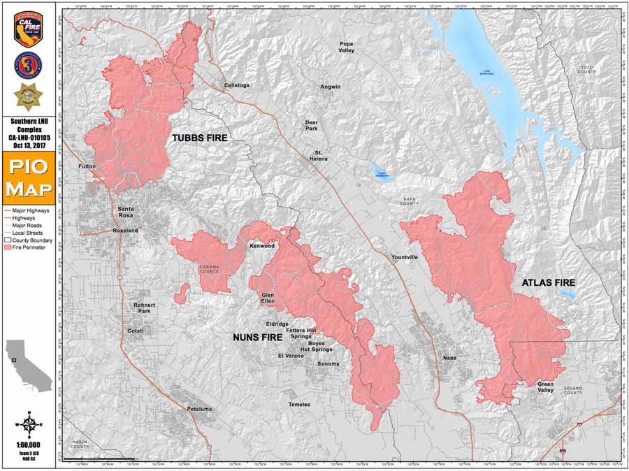 Northern California Wildfires Claim 31 Lives And 137 000 Acres