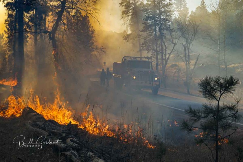 Legion Lake Fire