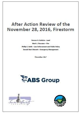 Chimney Tops 2 fire AAR report