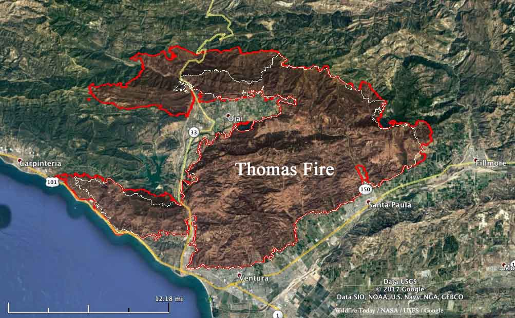 Thomas Fire Archives Page 4 Of 5 Wildfire Today