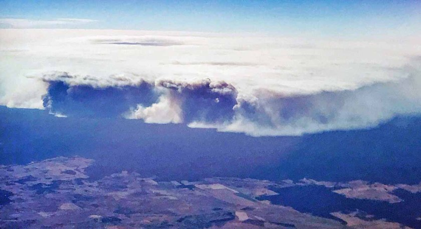 Pilliga Fire New South Wales