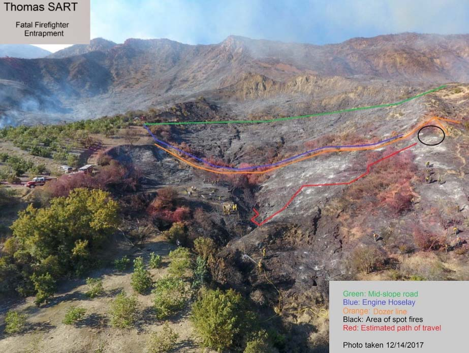 Report released on Thomas Fire Fatality