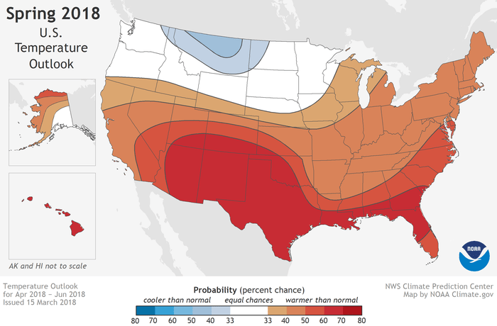 NOAA report: Warmer-than-average spring, worsening drought across West