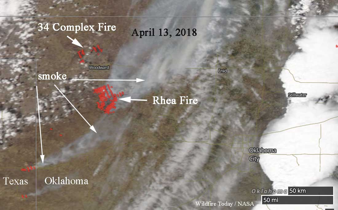 satellite wildfire oklahoma