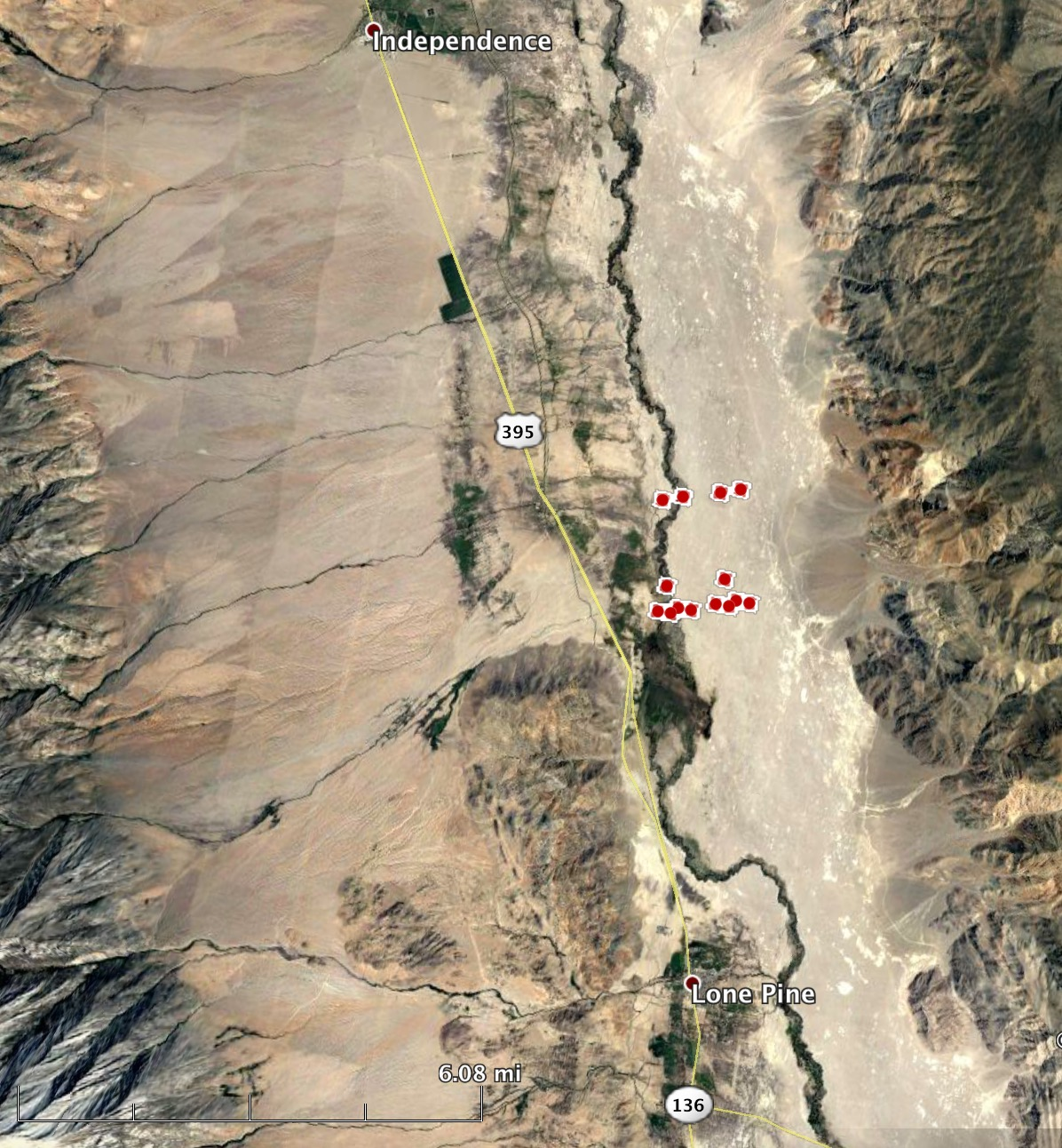 Moffat Fire Burns Hundreds Of Acres North Of Lone Pine Ca