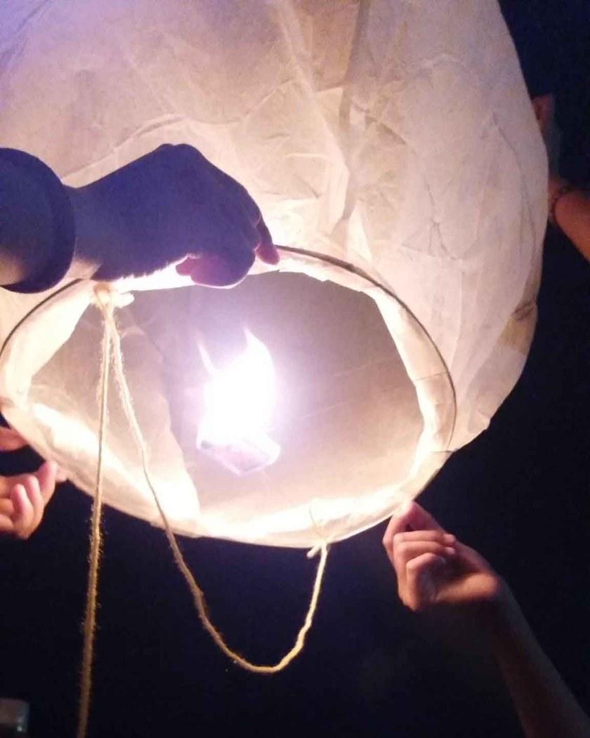 sky lantern launch fire dangerous