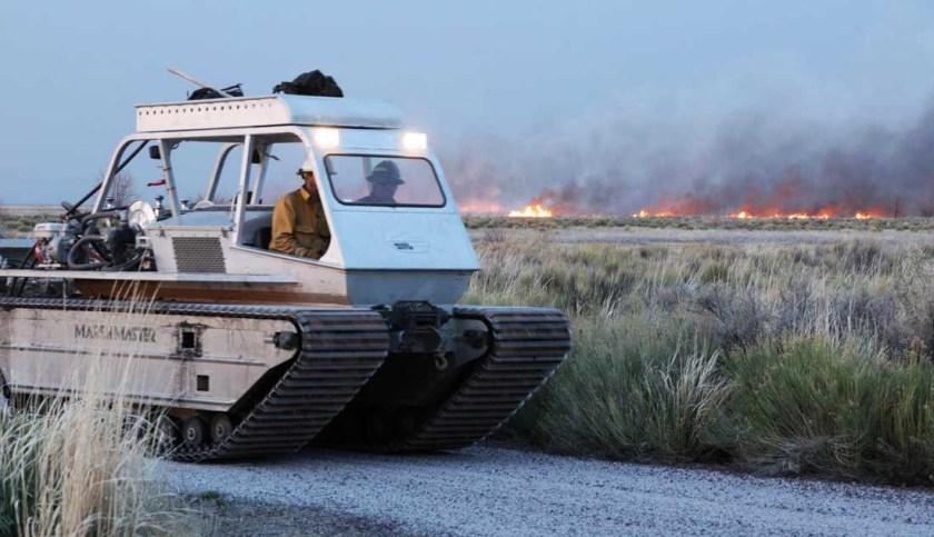 Voltage Fire Malheur National Wildlife Refuge