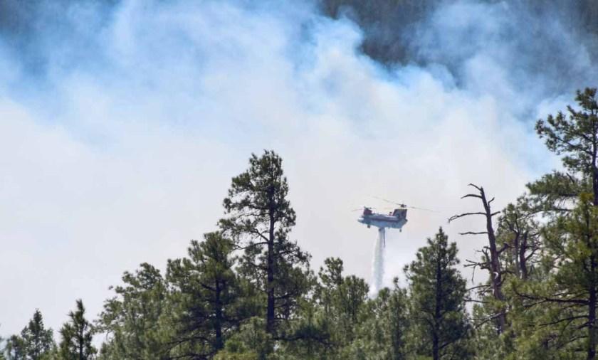 Chinook Tinder Fire Arizona