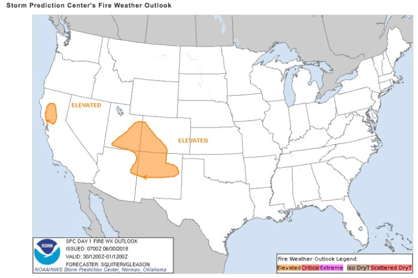 Fire Weather Outlook