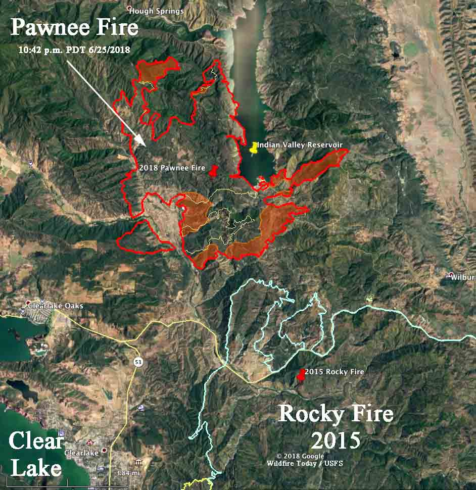 Clayton Fire Archives - Wildfire Today