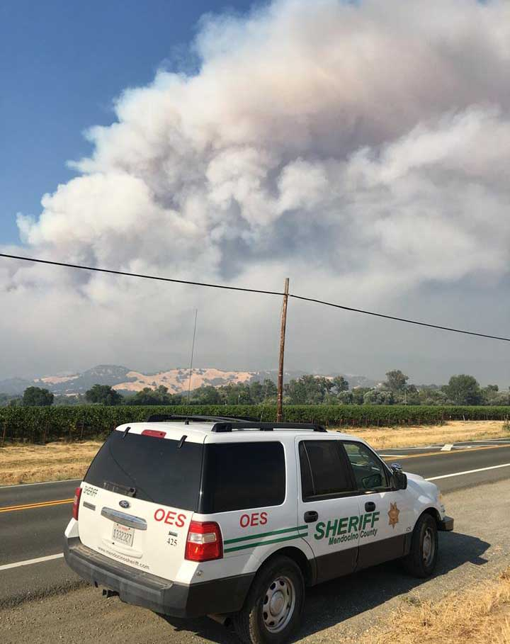 Mendocino Complex of Fires
