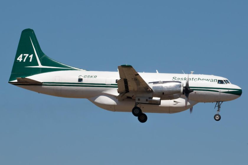Saskatchewan air tanker 471