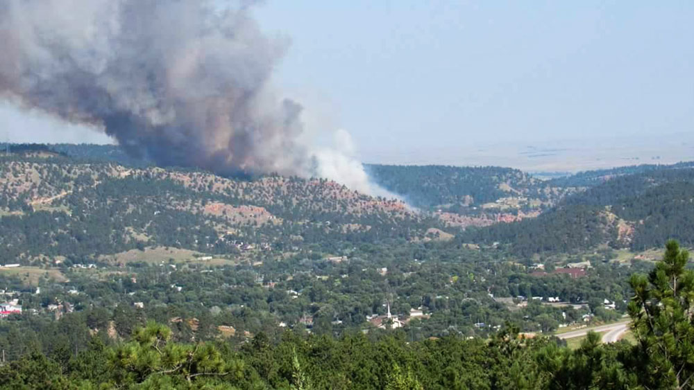 Vineyard Fire at Hot Springs, SD grows to 468 acres