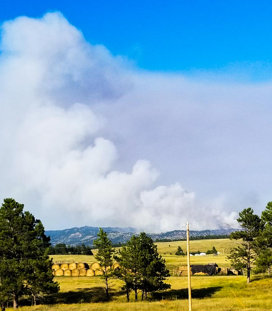 Colorado Springs Shooting Update: Vineyard Fire At Hot Springs, SD Grows To 468 Acres