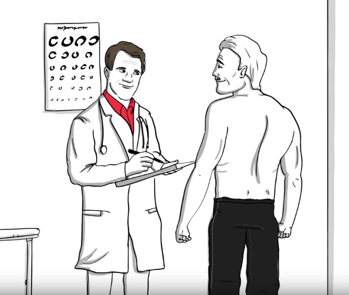 Physical exam firefighter save life