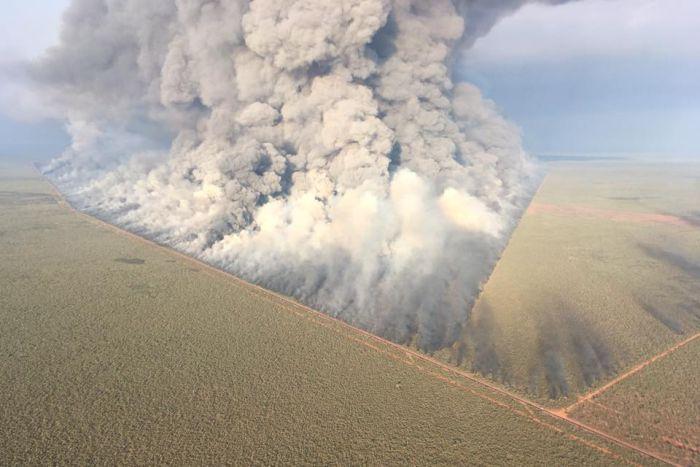 Bushfire Broome, Western Australia