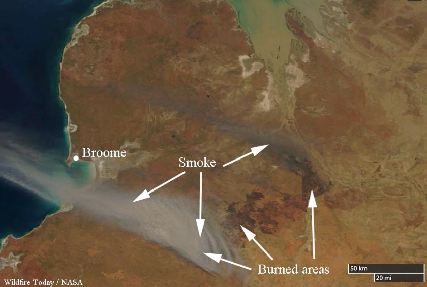 bushfire Western Australia