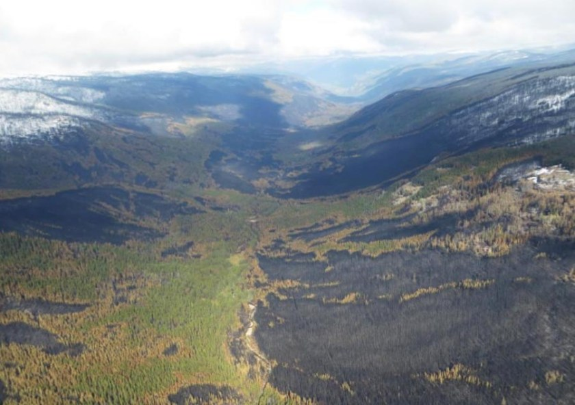 wildfire spread mosaic behavior