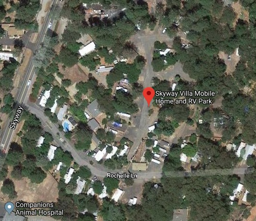 Skyway Villa Mobile Home & RV Park satellite photo