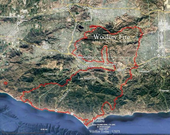 Pepperdine Malibu Campus Map.Woolsey Fire Burns To The Ocean As 200 000 Evacuate Wildfire Today