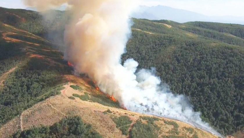 Bountiful Fire Utah