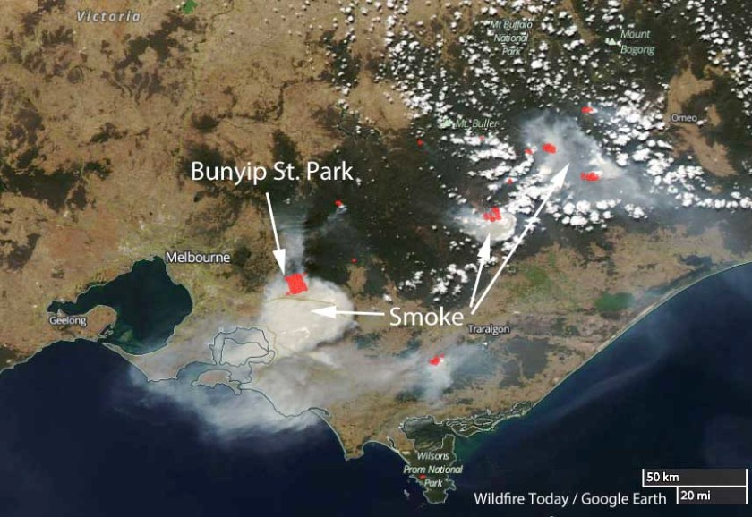 Wildfires in Victoria