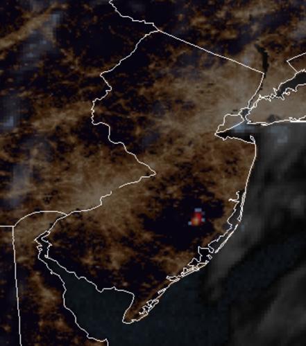 map Spring Hill Fire pine barrens New Jersey