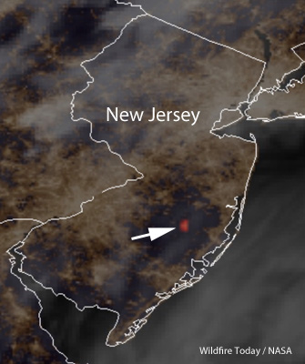 Spring Hill Fire spreads across 10,000 acres in New Jersey