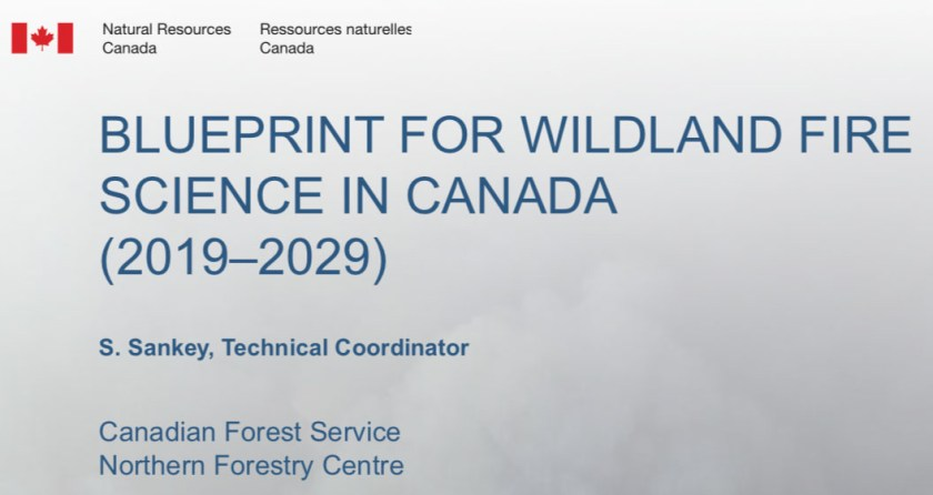 Canada wildfire research blueprint