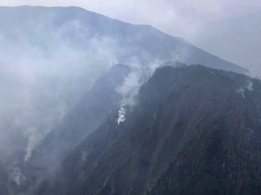 China 27 firefighters killed wildfire
