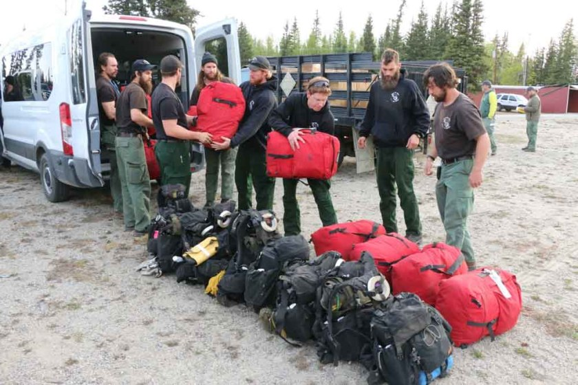 Chena Hotshots Oregon Lakes Fire
