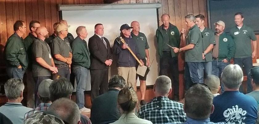 Chief John Hawkins retired honored