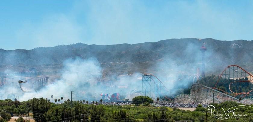 Sky Fire Six Flags Magic Mountain