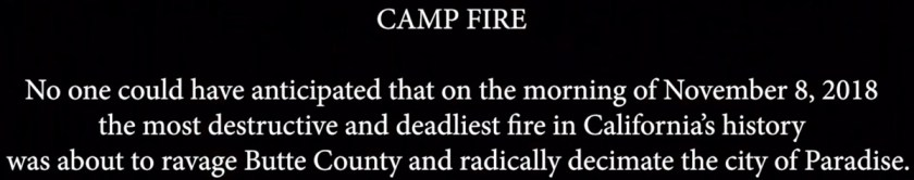 film Camp Fire into the fire