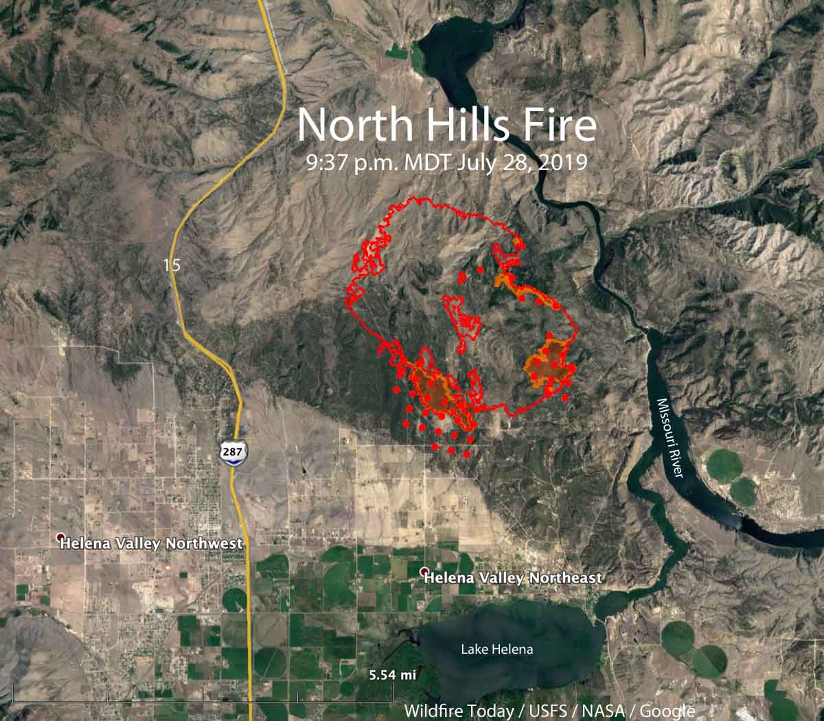 Hundreds of homes evacuated due to wildfire north of Helena ...