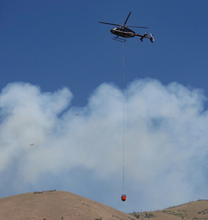 helicopter Round Fire Utah