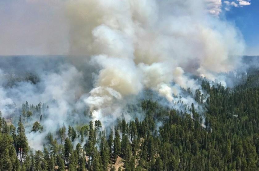 Ikes Fire Arizona