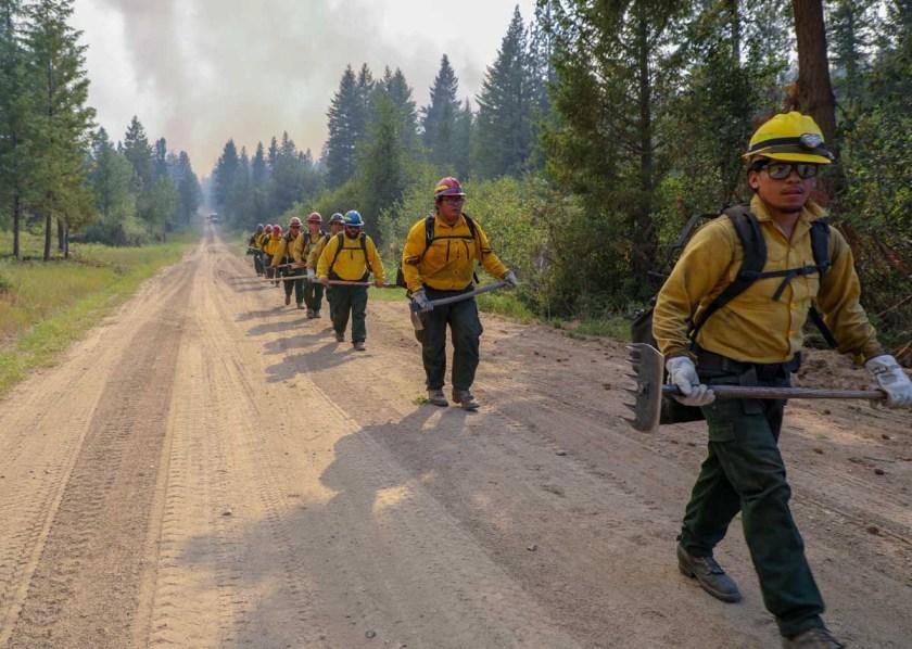 map Williams Flats Fire