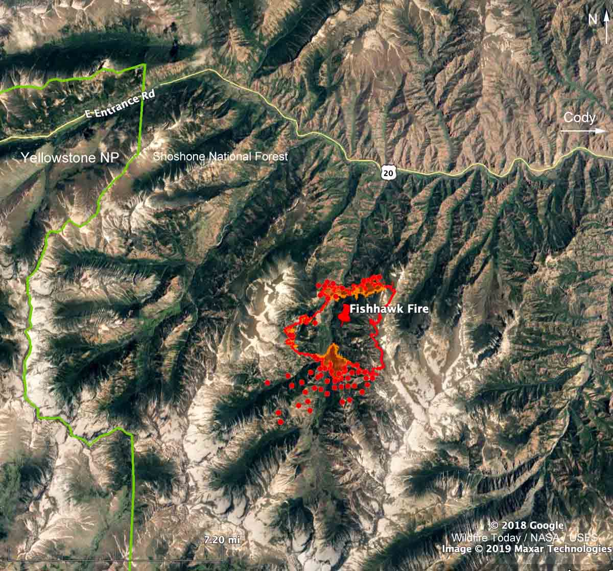 Fishhawk Fire grows to over 4,500 acres west of Cody ... on physical map of yellowstone, topographical map of yellowstone, street map of yellowstone, topo map of yellowstone, elevation map of yellowstone, aerial map of yellowstone, topography map of yellowstone, vegetation map of yellowstone, contour map of yellowstone, wildlife map of yellowstone, political map of yellowstone, landscape map of yellowstone, 3d map of yellowstone, distance map of yellowstone,