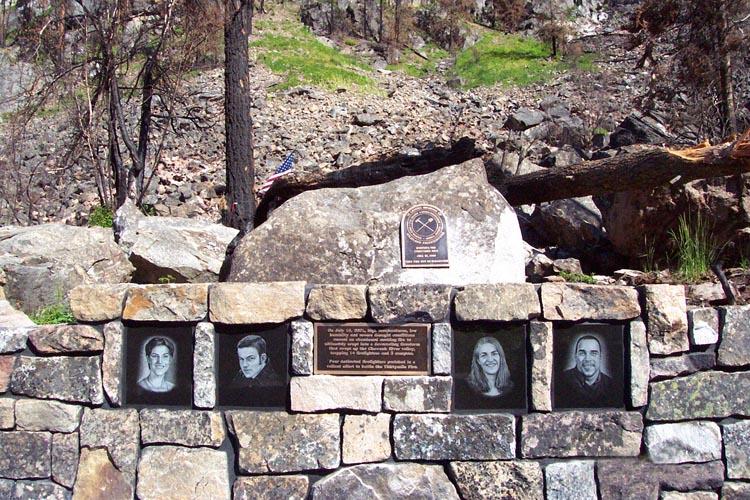 Thirty Mile Fire Memorial
