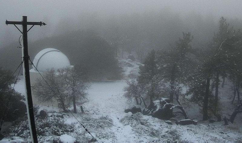 snow Mt. Laguna California