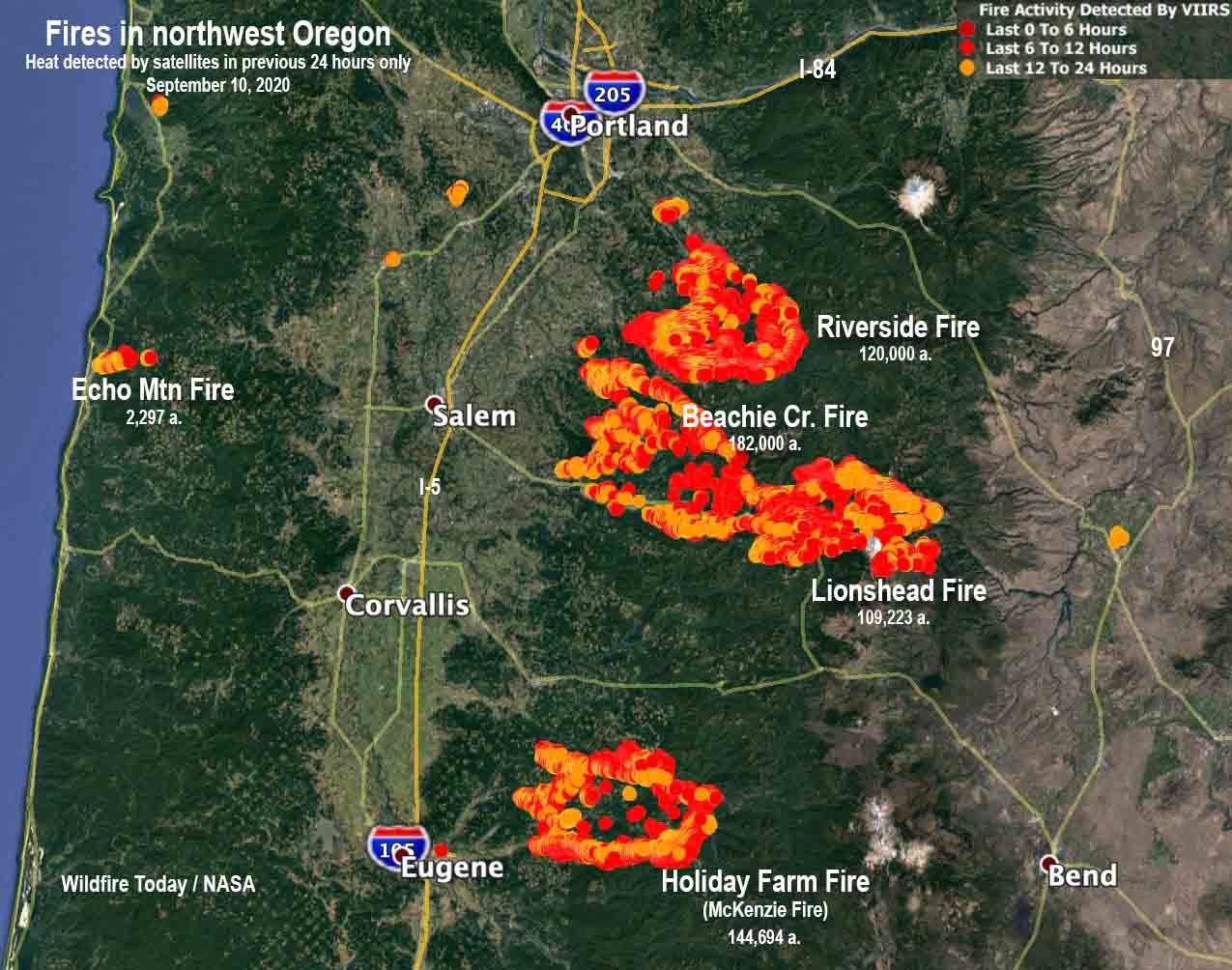 It seems that fires in california news remain top stories throughout the year. Wildfires Have Burned Over 800 Square Miles In Oregon Wildfire Today