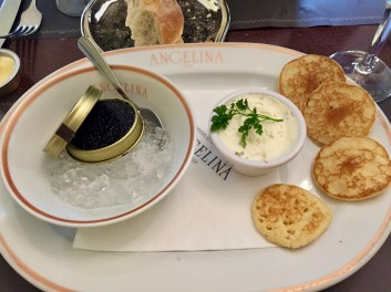 When at Versailles, lunch on caviar!