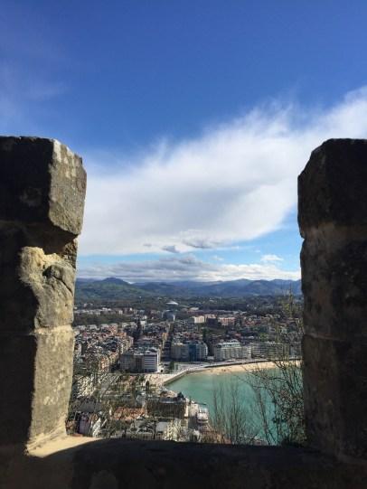 San Sebastián from Mount Urgull