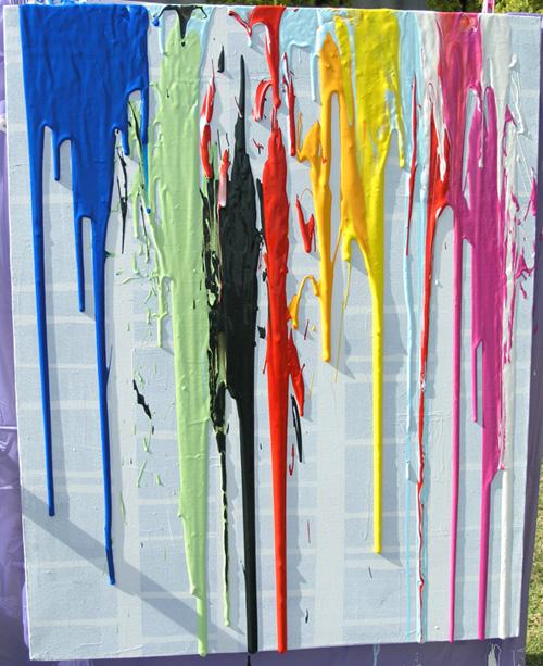 10 Messy Outdoor Painting Activities Wildflower Ramblings